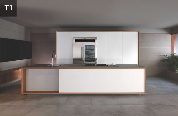 T1 modular kitchen