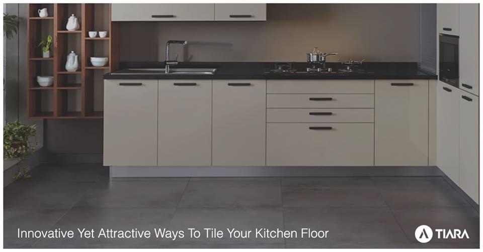 Innovative Yet Attractive Ways To Tile Your Kitchen Floor