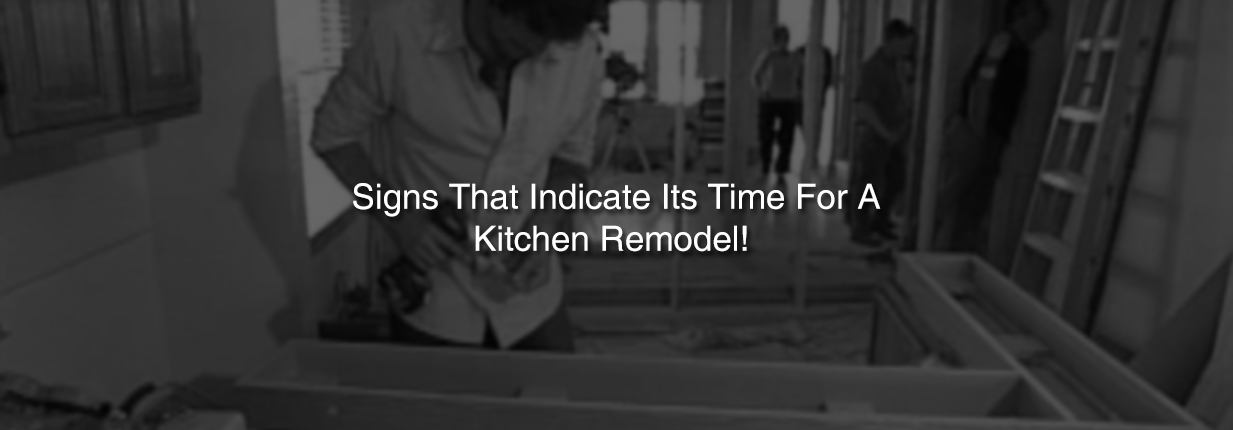 Signs That Indicate Its Time For A Kitchen Remodel-Tiara Furniture Systems Ahmedabad