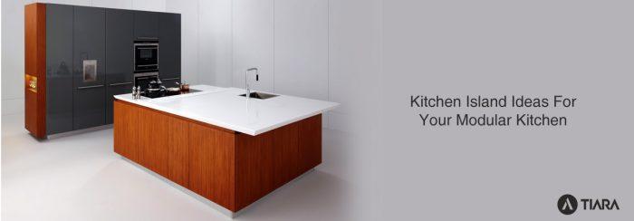 Kitchen Island Ideas For Your Modular Kitchen-Tiara Furniture Systems