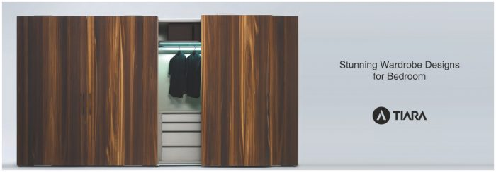 Stunning wardrobe designs for bedroom-Tiara Furniture Systems in Ahmedabad