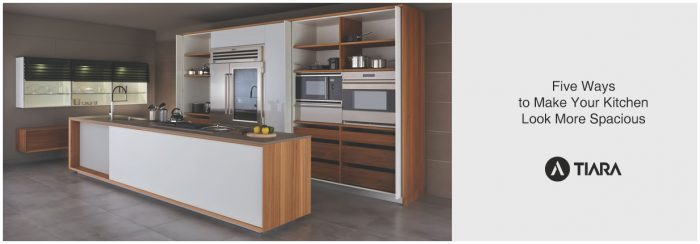 Five Ways to Make Your Kitchen Look More Spacious-Tiara Furniture Systems
