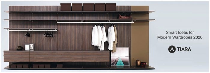 Smart Ideas for Modern Wardrobes 2020-Tiara Furniture Systems in Ahmedabad